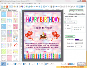 DRPU Birthday Cards Designing Software