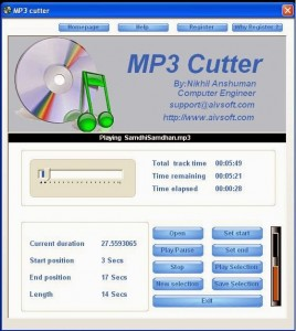 mp3 cutter and editor